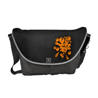 Orange Paintball Courier Bags