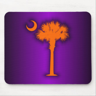 Orange Palmetto Mouse Pad
