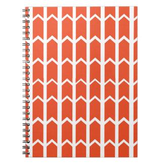 Orange Panel Fence Notebooks
