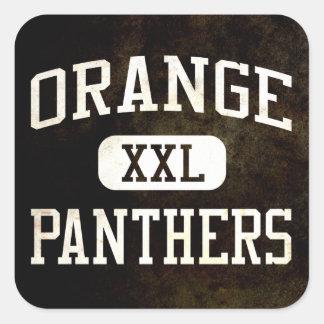 Orange Panthers Athletics Stickers