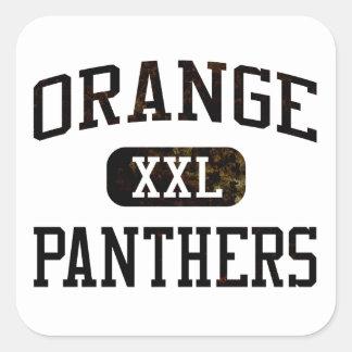 Orange Panthers Athletics Sticker