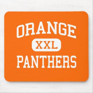 Orange - Panthers - High - Hillsborough Mouse Pads