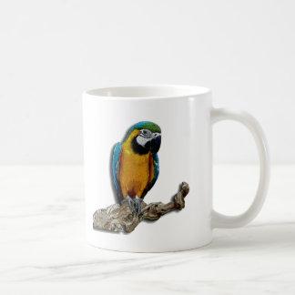 Orange Parrot alone mug
