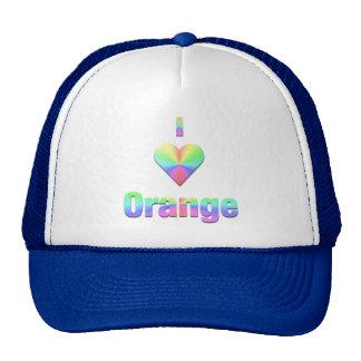 Orange -- Pastels Trucker Hat