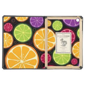 Orange pattern and background iPad air case