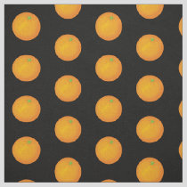 Orange Pattern Fabric