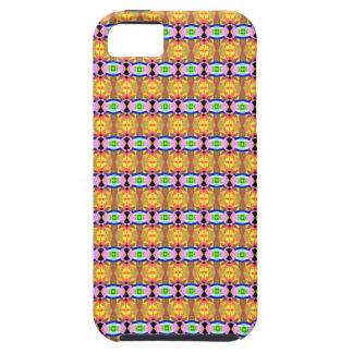 Orange Pattern iPhone SE/5/5s Case