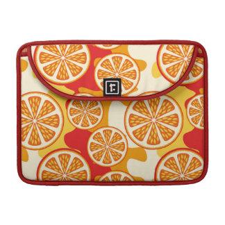 Orange pattern sleeve for MacBooks