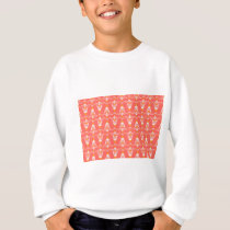 orange pattern sweatshirt