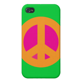 Orange Peace iPhone Case Covers For iPhone 4
