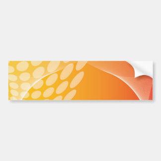 Orange Peel Abstract Bumper Sticker