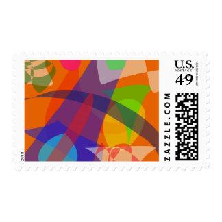 Orange Peel Postage Stamps