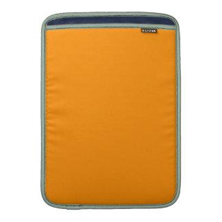 ORANGE PEEL (solid fruity color) ~ MacBook Sleeve