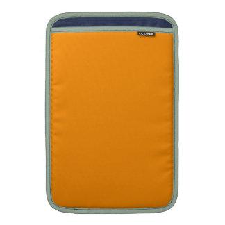 ORANGE PEEL (solid fruity color) ~ MacBook Air Sleeves