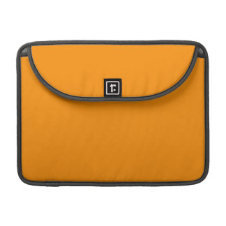 ORANGE PEEL (solid fruity color) ~ Sleeve For MacBook Pro