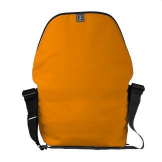 ORANGE PEEL (solid fruity color) ~ Messenger Bag