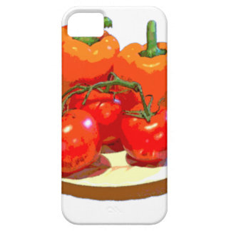 ORANGE PEPPERS, RED TOMATOES iPhone SE/5/5s CASE