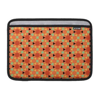 Orange Persian Hexagon Pattern Sleeve For MacBook Air
