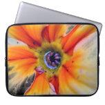 Orange Petal Laptop Sleeves