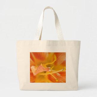 Orange Petals Jumbo Tote Bag