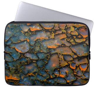 Orange Petrified dinosaur bone Laptop Sleeve