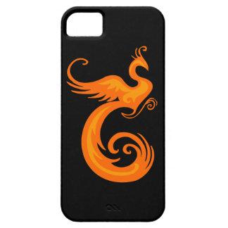 Orange Phoenix iPhone SE/5/5s Case