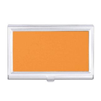 Orange Business Card Case
