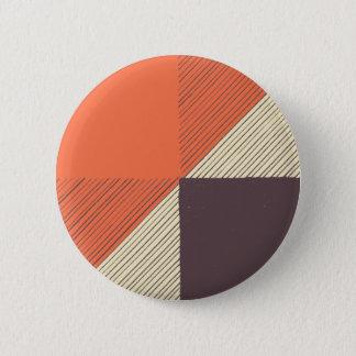 Orange Pinback Button