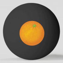 Orange Ping Pong Ball