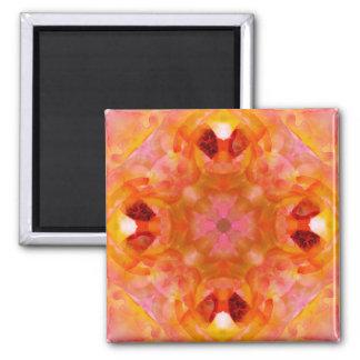 Orange & Pink Petals Magnet