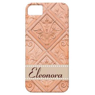Orange Pink Terracotta Pattern iPhone 5 Covers