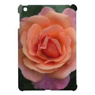 Orange Pinwheel Rose iPad Mini Covers