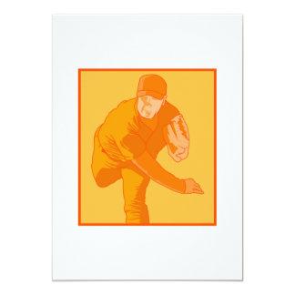 Orange Pitcher Card