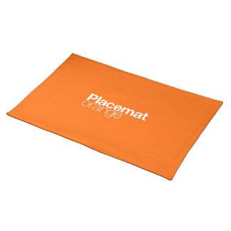Orange Placemat
