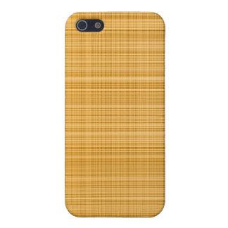 Orange Plaid Case Cover For iPhone 5