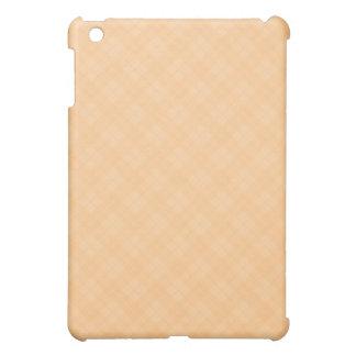 Orange Plaid iPad Mini Covers