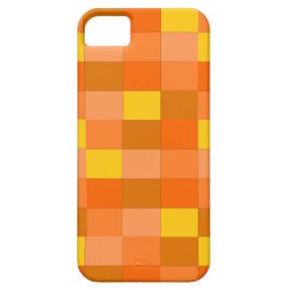 orange plaid iphone 5 case