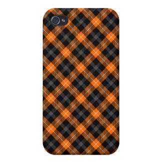 Orange Plaid iPhone Case iPhone 4/4S Cases