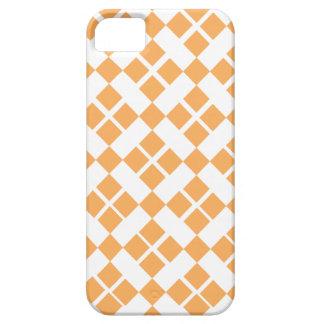 Orange Plaid iPhone SE/5/5s Case