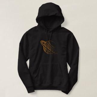 Orange planet hoodie