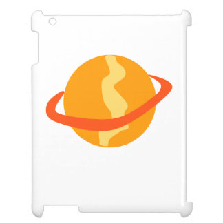 Orange Planet iPad Cover