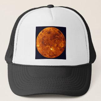 Orange Planet Trucker Hat