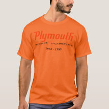Orange Plymouth Road Runner Tee