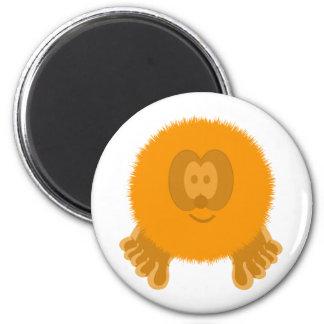 Orange Pom Pom Pal Magnet