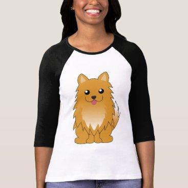 heartlocked Orange Pomeranian T-Shirt