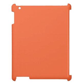 Orange Pop-Bright Orange-Uptown Girl-Designer iPad Cover