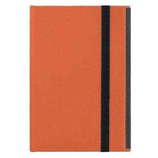 Orange Pop-Bright Orange-Uptown Girl-Designer iPad Mini Case