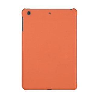 Orange Pop-Bright Orange-Uptown Girl-Designer iPad Mini Retina Covers