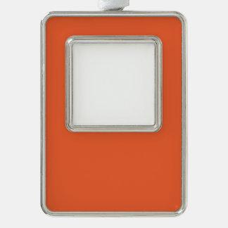 Orange Pop-Bright Orange-Uptown Girl-Designer Ornament