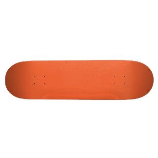 Orange Pop-Bright Orange-Uptown Girl-Designer Skateboards